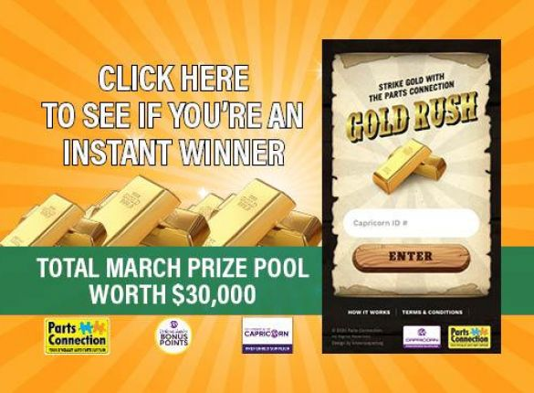 Capricorn customers your turn to Strike Gold